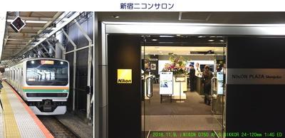 1109新宿ニコンサロンへ.jpg